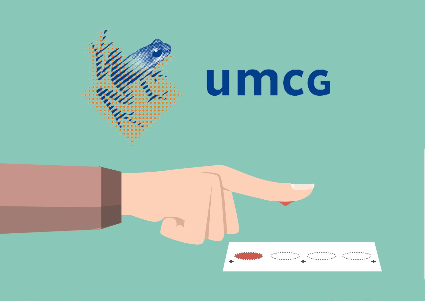 UMCG – Vingerprik app